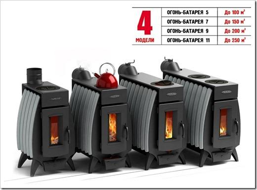 Виды топлива для печей длительного горения