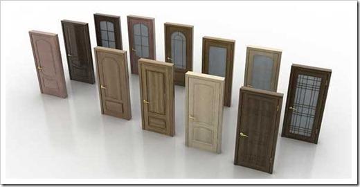 Ламинированные межкомнатные двери и натуральный шпон