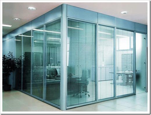 Типы стекла перегородок: насколько хрупким оно является