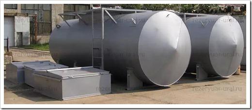 Положительные аспекты подземного расположения ёмкостей с нефтью