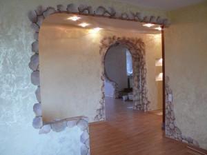 Декоративные работы при строительстве