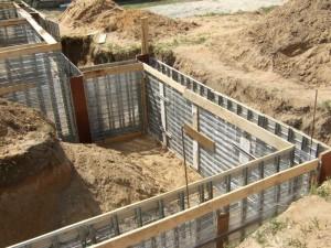 Фундаменты и стены подвалов и технического подполья