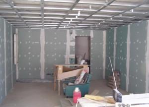 Гипсокартон в строительстве