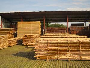 Хранение и сушка лесных материалов