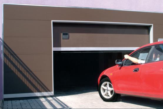Секционные ворота - лучший выбор для гаража