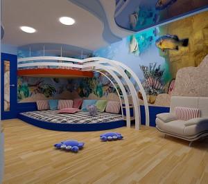 Советы по ремонту в детской комнате