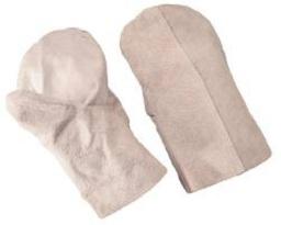 Спилковые рукавицы
