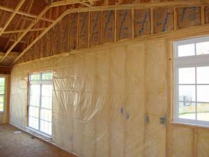 Утепление внутренних стен дома