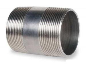 Ниппель для соединения безниппельных труб