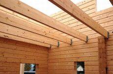 Устройство межэтажных перекрытий по деревянным балкам в доме