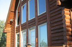 Дома из оцилиндрованного бревна: преимущества и особенности