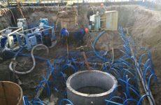 Осушения стройплощадок. Установки вакуумного водопонижения
