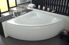 Современная сантехника. Угловая ванна – преимущества дизайна