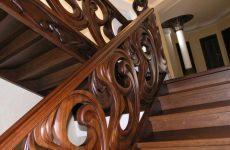 Лестницы из ценных пород дерева