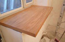 Специальная конструкция и покрытие деревянных подоконников. Про решетки на окна