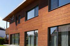 Способы отделки стен дома из сибирской лиственницы
