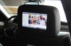 Удобное решение вопроса занятости задних пассажиров во время длительного путешествия!