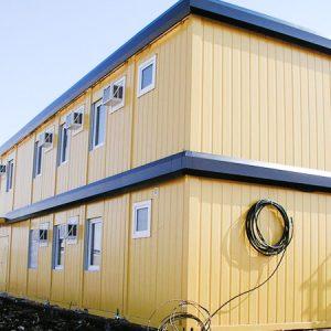 Быстровозводимые модульные здания из блок контейнеров и металлоконструкций