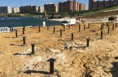 Возведение зданий и сооружений в условиях плотной застройки. Буронабивные сваи