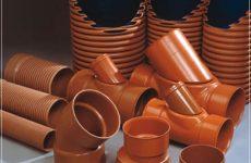 Трубы и фитинги ПП для наружной канализации