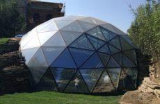 Особенности проектирования и монтажа готовой купольной конструкции
