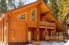 Строительство надежных деревянных домов из крепкого бруса под усадку