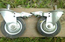 Виды колес для тележек и оборудования