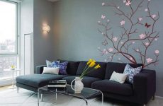 Декор стен: современные фотообои в интерьере