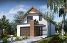 Коттеджи и дома с гаражами – составление актуального проекта