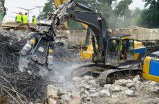Как осуществляется демонтаж армированного бетона