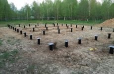 Фундамент на насыпном грунте
