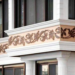 Фасадные работы. Лепной декор – универсальность и практичность