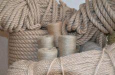 Канаты из натуральных волокон