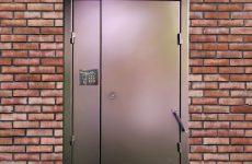 Установка подъездных дверей с домофоном