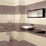 Плитка для ванной комнаты из керамики