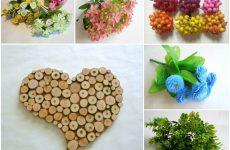 Материалы для флористического декора подаренные природой