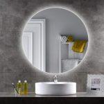 Выбираем идеальное зеркало для ванной с подсветкой
