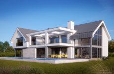 Проект дома с бассейном на улице: плюсы и минусы